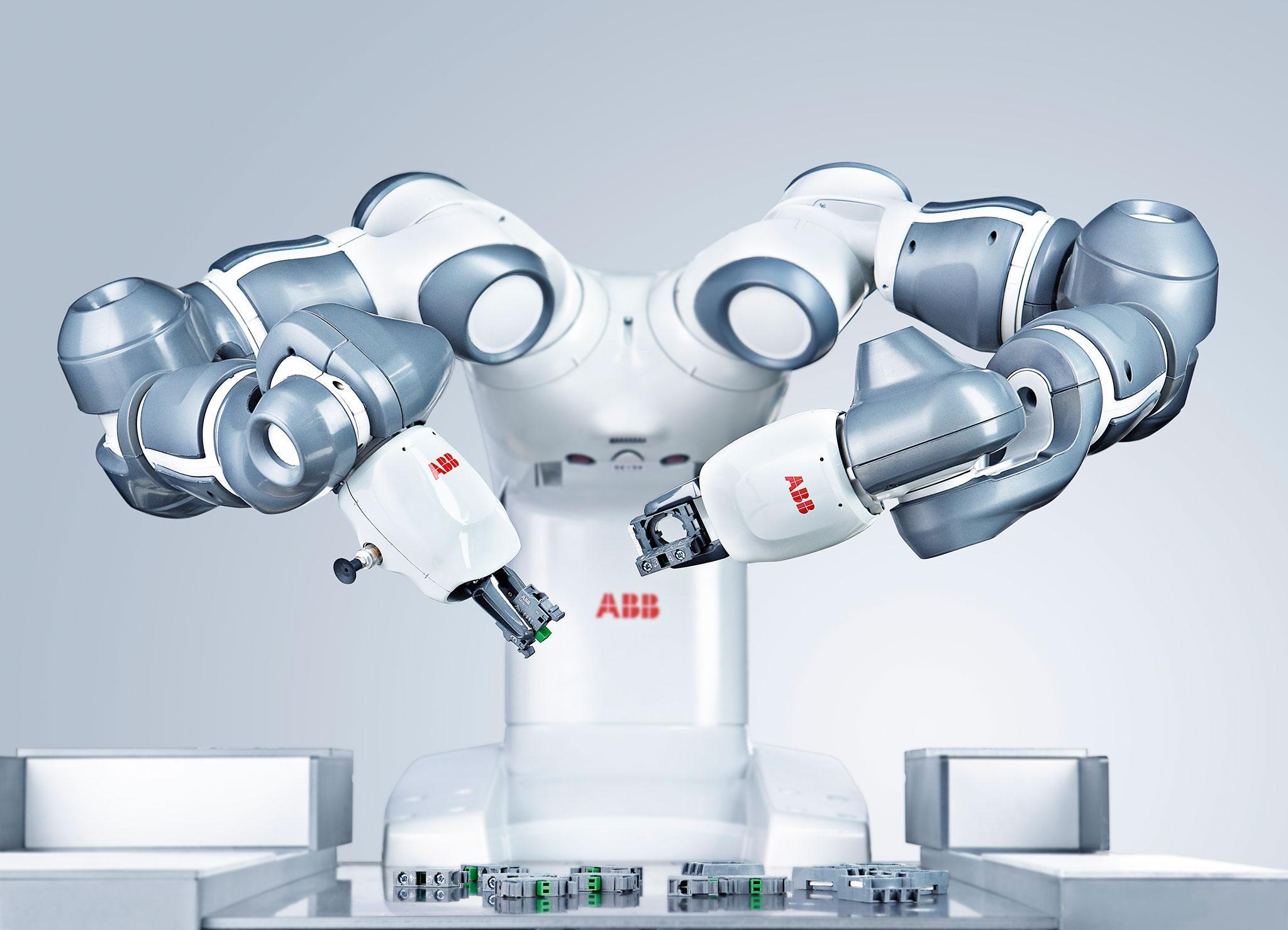 Двурукий робот-помощник