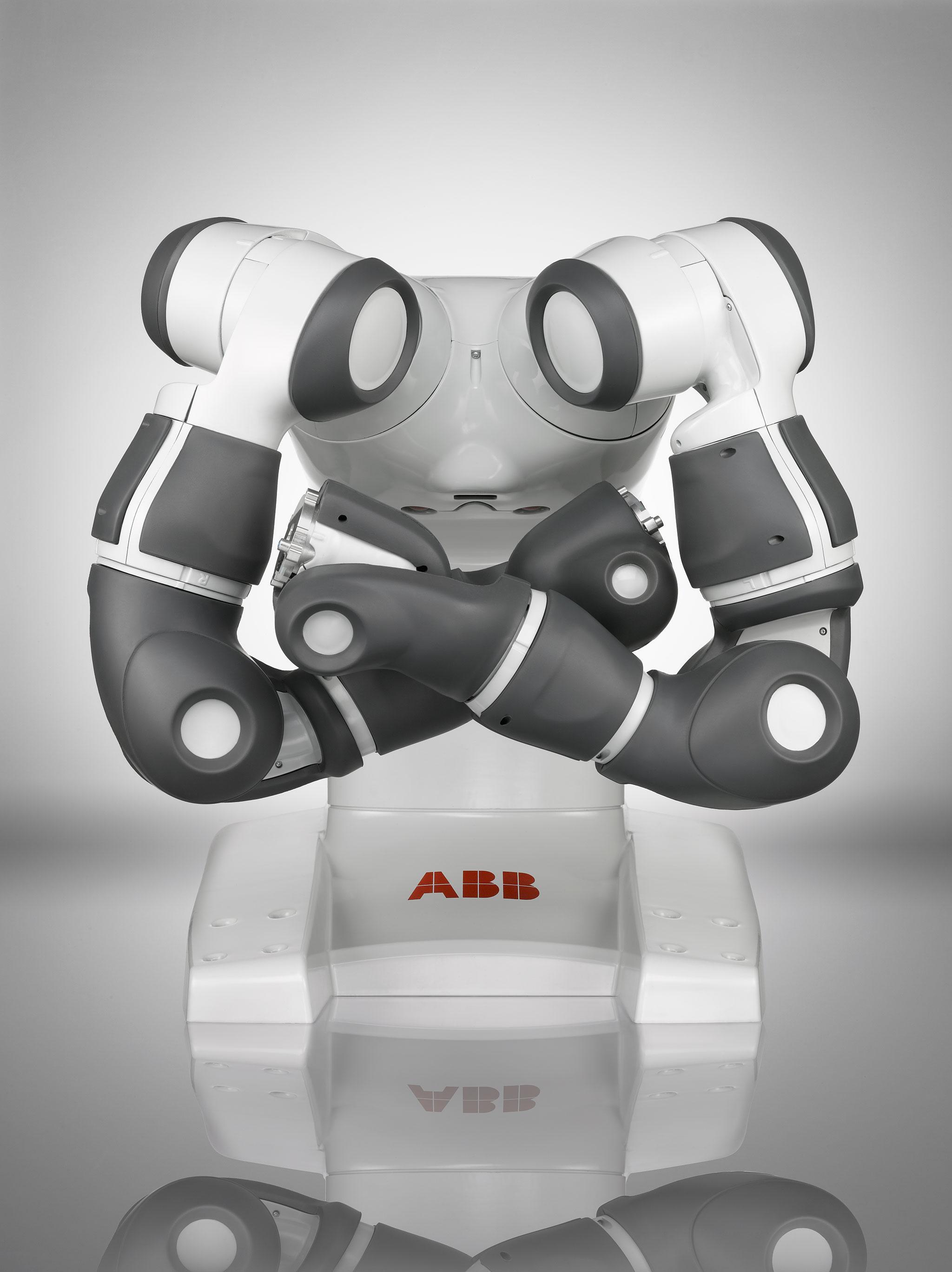 YuMI робот будет работать бок о бок с человеком