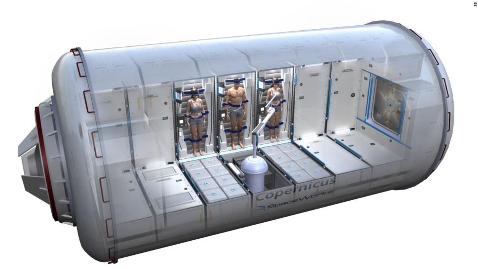 Капсула для гибернации космонавтов