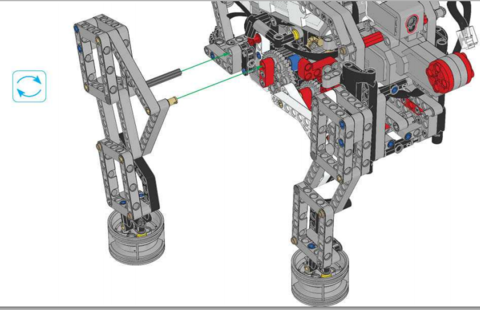 Инструкции по сборке Lego Mindstorms EV3