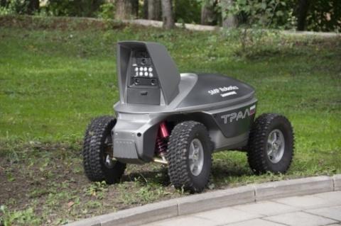 Колесный робот для подготовленных путей проезда UGV «SRX 1»