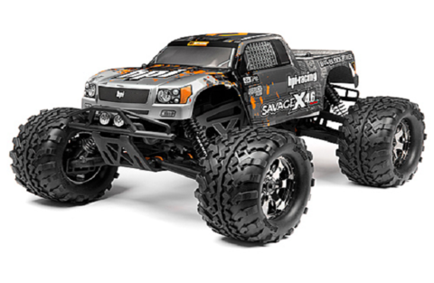 HPI Savege X 4.6 4WD 2.4Ghz 2013 (тип 2)