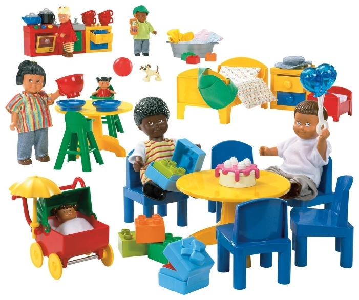 цена на Дочки - матери Lego Duplo 9215