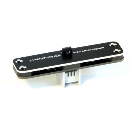 Двухдиапазонный инфракрасный детектор препятствий 3-х зон для NXT/EV3