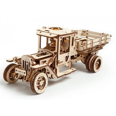 3D пазлы UGEARS Грузовик UGM-11