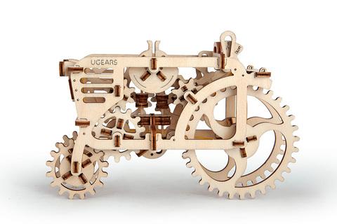 3D пазлы UGEARS Трактор