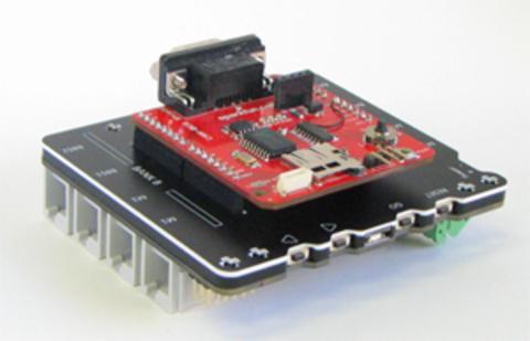 Дополнительная плата для подключения моторов и датчиков NXT/EV3 к Arduino