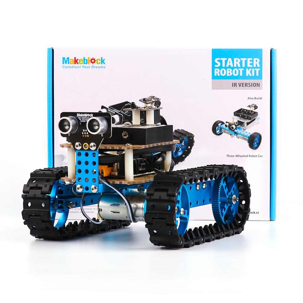 Конструктор Starter Robot Kit-Blue (IR Version) - Робототехнические и программируемые конструкторы в интернет магазине белья Малагон