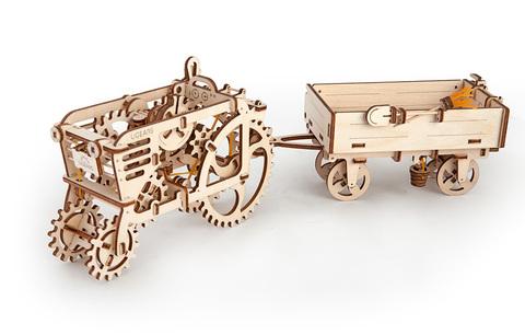 3D пазлы Прицеп к трактору
