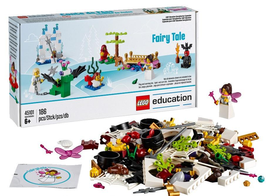 Дополнительный набор LEGO Education «Построй свою историю. Сказки» 45101 (6+) набор lego education первые механизмы 9656 5