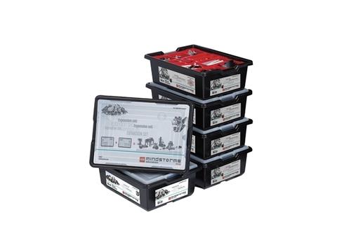 Полный комплект оборудования Lego Mindstorms EV3 на 4 учеников