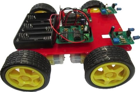 Конструктор «Робот с ИК датчиком»