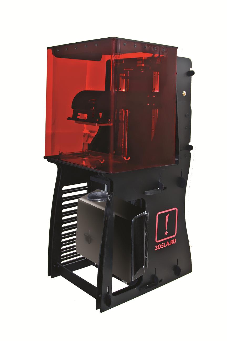 Русский DLP 3D принтер принтер матричный