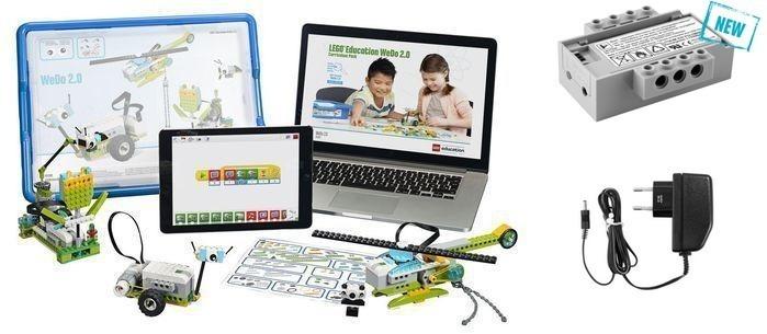 Комплект LEGO WeDo 2.0 с аккумулятором и зарядкой (7+) набор с запасными частями lego education wedo 2000710 32 детали 7