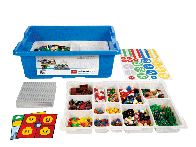 Базовый набор LEGO Education «Построй свою историю» 45100 (6+) набор lego education первые механизмы 9656 5