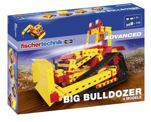 Fischertechnik Advanced Бульдозер XL