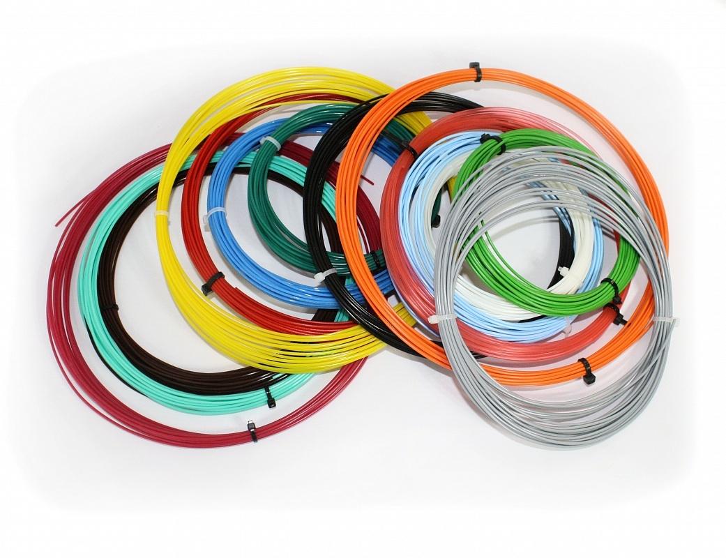 Комплект PLA-пластика Tiger3D 1.75 мм, 14 цветов по 9 метров pla nanocomposite an overview