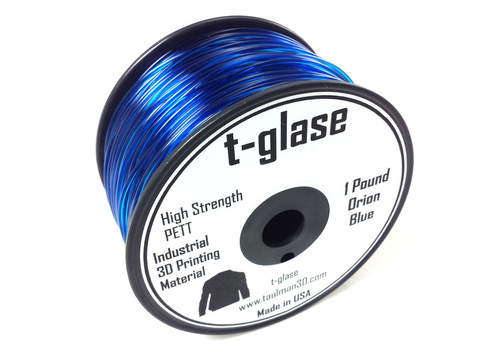Катушка Taulman 3D T-Glase 0,45 кг, 1,75 мм голубая