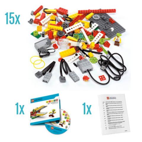 Стартовый комплект оборудования Lego Перворобот Wedo на 30 учеников