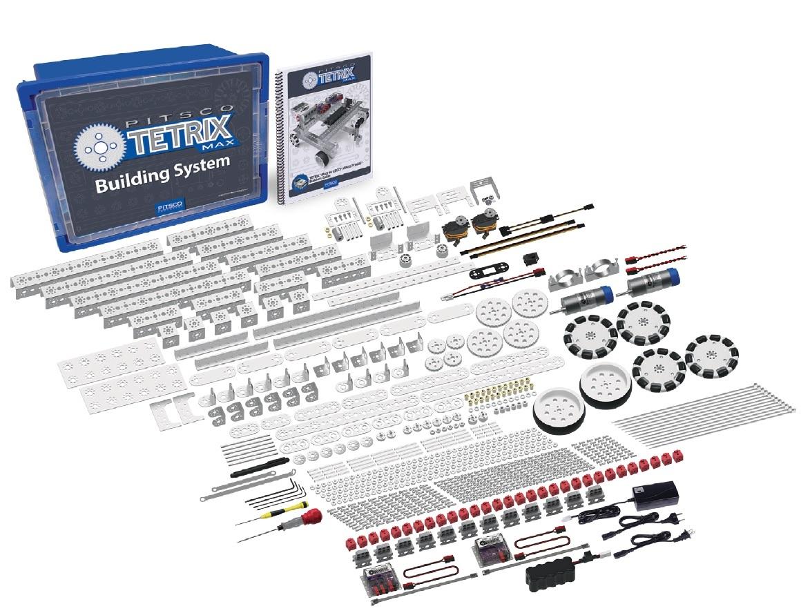 44616 TETRIX® MAX БАЗОВЫЙ НАБОР ДЛЯ создания робототехнических моделей серии LEGO EV3 (14+)