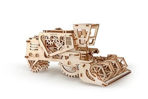 3D пазлы Комбайн