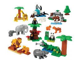 Дикие животные Lego Duplo 9218 (2+) lego education preschool 9076 набор с трубками duplo