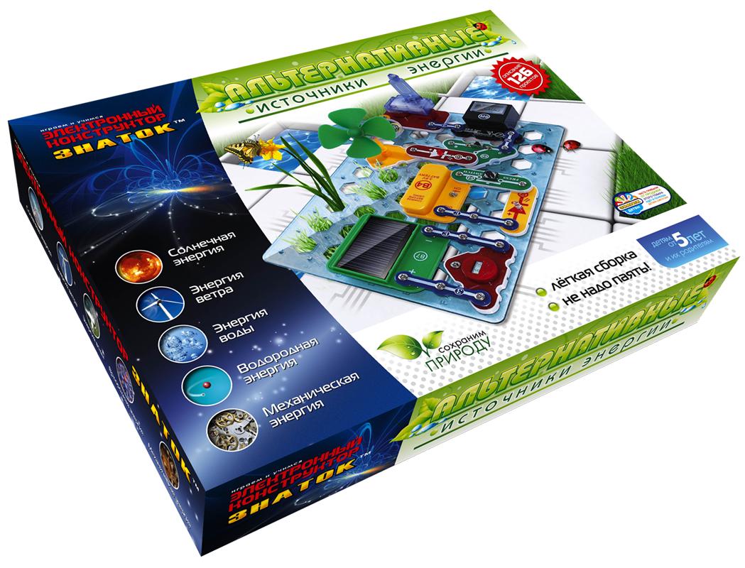 Электронный конструктор Альтернативные источники энергии конструктор знаток знаток электронный конструктор альтернативные источники энергии