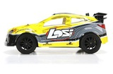 Losi Micro Rally X Brushless 4WD (желтый)