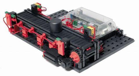 Ленточный транспортер 9 В с контроллером
