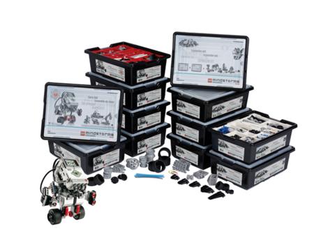 Полный комплект оборудования Lego Mindstorms EV3 на 16 учеников