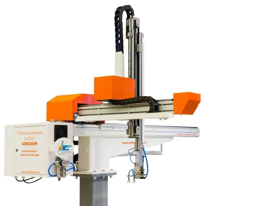 Промышленный робот ARKODIM 4-х осевой