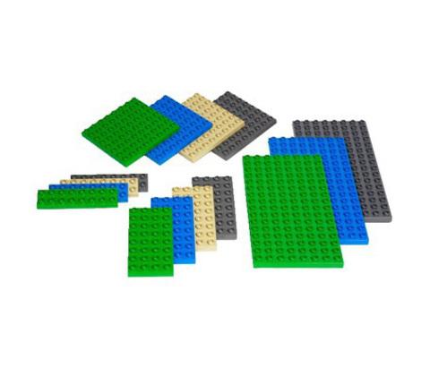 Малые строительные платы Lego Duplo 9079