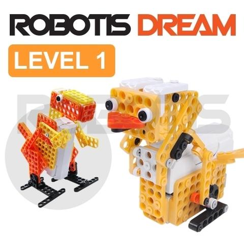 ROBOTIS DREAM Level 1 (Уровень 1) конструкторы fanclastic конструктор fanclastic набор роботоводство