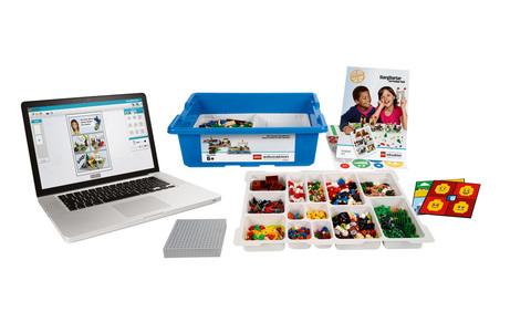 Комплект оборудования Построй свою историю на 5 учеников Lego
