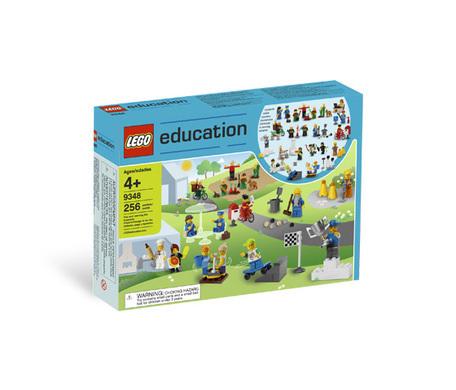 Работники муниципальных служб Lego System 9348 (4+) lego education 9689 простые механизмы