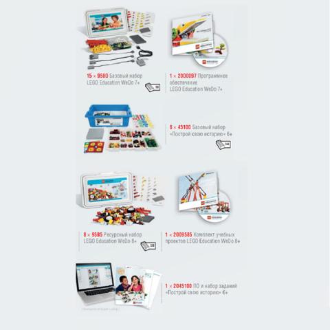 Комплект LEGO Education Wedo и