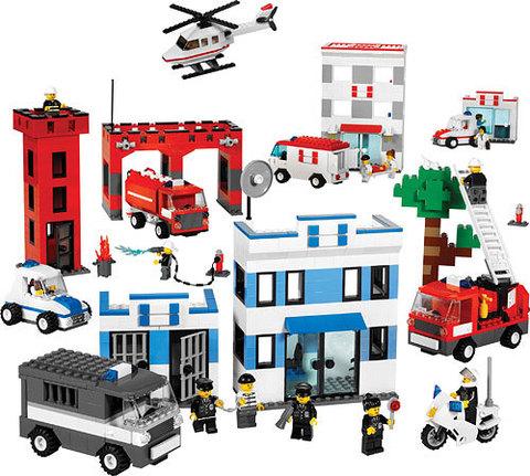 Службы спасения Lego