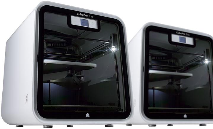 3D принтер CUBEPRO TRIO 3d принтер cubepro