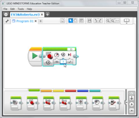 Программное обеспечение Mindstorms EV3 Домашняя версия