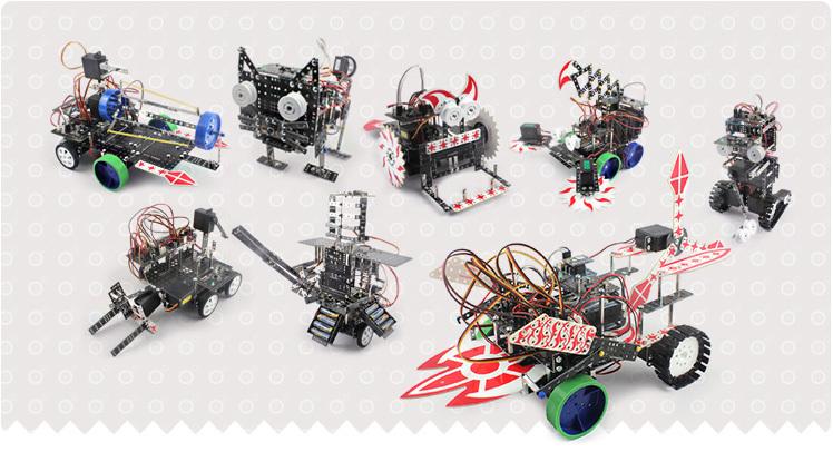 купить Робототехнический набор Roborobo Robo Kit 6 недорого