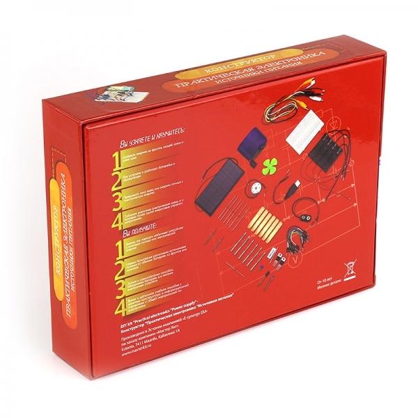 МастерКит Практическая электроника «Источники питания» - Электронные конструкторы