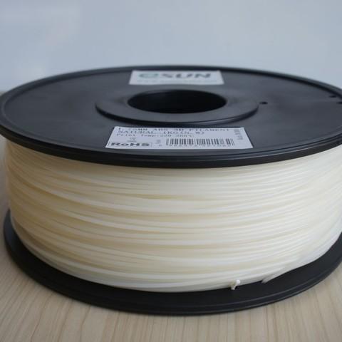 Катушка пластика HIPS ESUN 1.75 мм 1 кг., натуральная