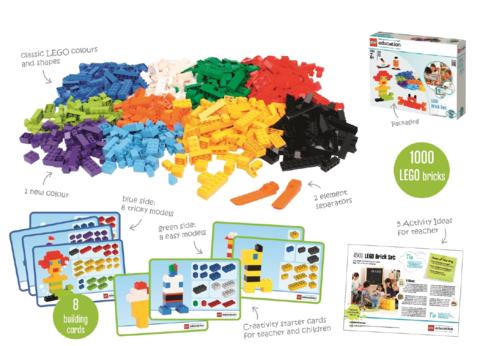 Кирпичики для творческих занятий LEGO 45020