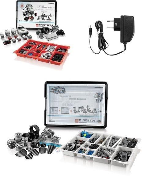 все цены на Расширенный комплект LEGO Mindstorms EV3 45544 (10+) онлайн