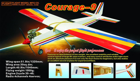 Flight Model Courage-9