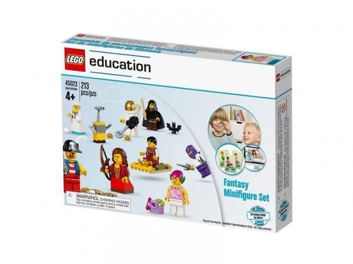 Набор Сказочные и исторические персонажи 45023 (2+) дополнительный набор lego education построй свою историю космос 45102 6
