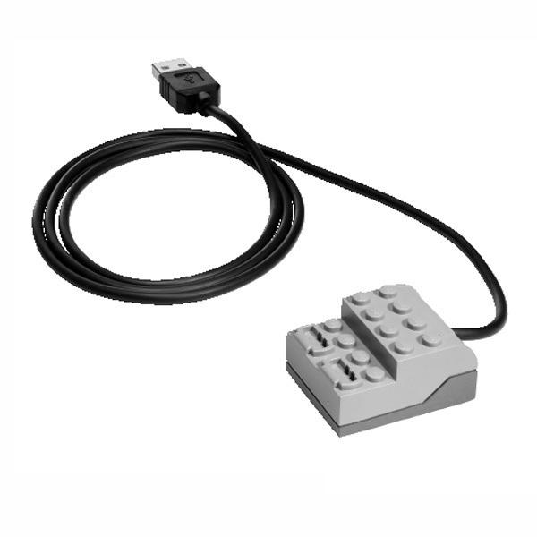 Мультиплексор LEGO WeDo USB Hub 9581 (7+) набор с запасными частями lego education wedo 2000710 32 детали 7