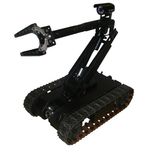 SuperDroid LT Tactical Treaded Robot w / 4DOF Arm