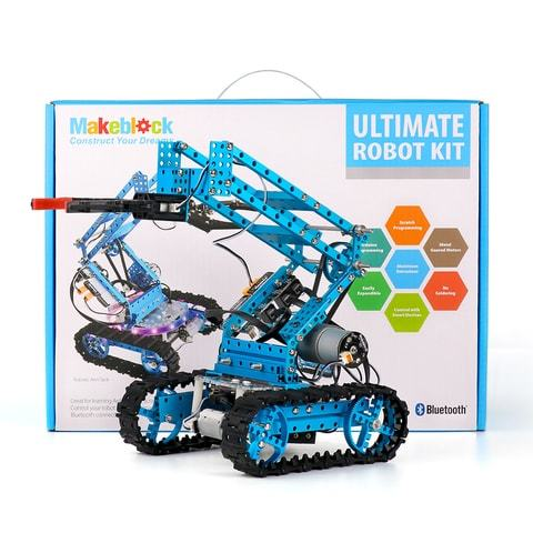 Набор Makeblock Ultimate Robot Kit-Blue ultimate набор для покера ultimate на 500 фишек