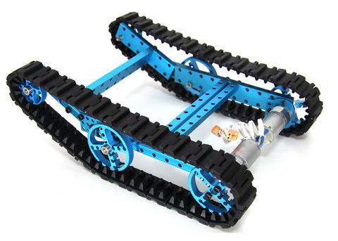Максимальный набор - конструктор Ultimate Robot Kit-Blue (без электроники)